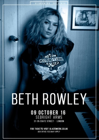 Seabright Arms - Glasswerk Presents: Beth Rowley + Special Guests