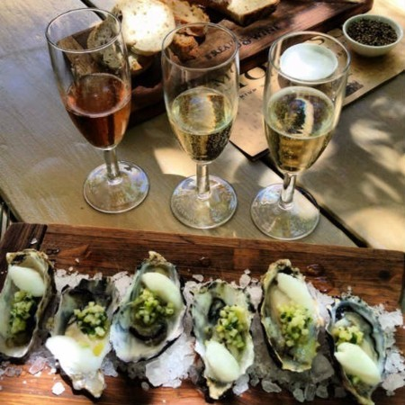 Champagne and Oysters 6.30pm
