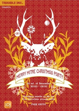 Merry Mitre Christmas Party