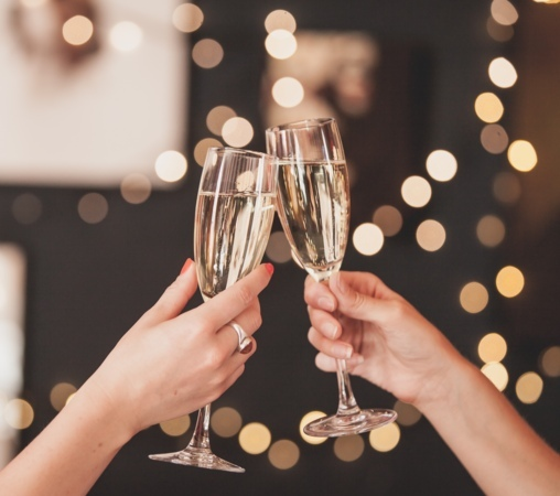 New Years Eve Party - Pop, Fizz, Clink!