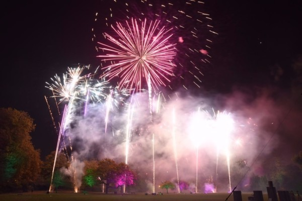 Battersea Park Fireworks Display