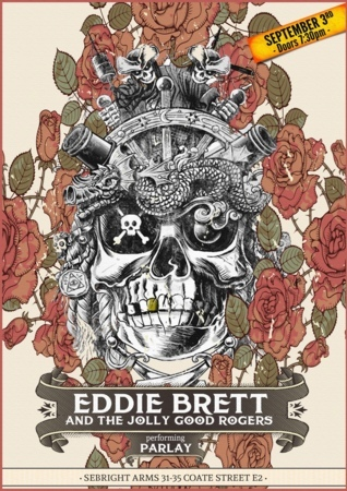 Seabright Arms - Eddie Brett and The Jolly Good Rogers - performing 'Parlay'