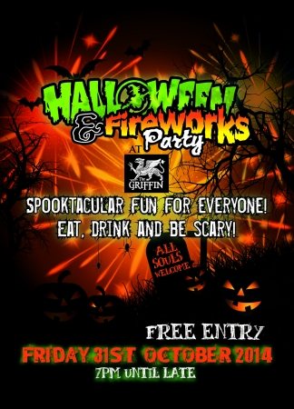 Halloween & Fireworks Fancy Dress Party
