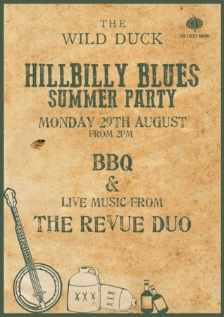 'Hillbilly Blues' Summer Party