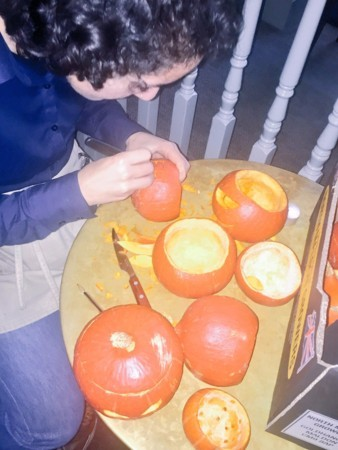 Halloween Pumpkin Carving Competition!