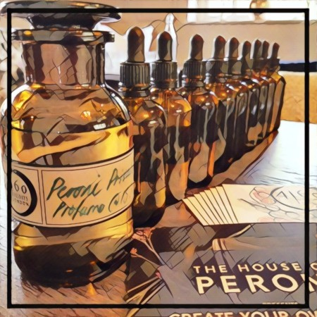 Create your own scent with House of Peroni