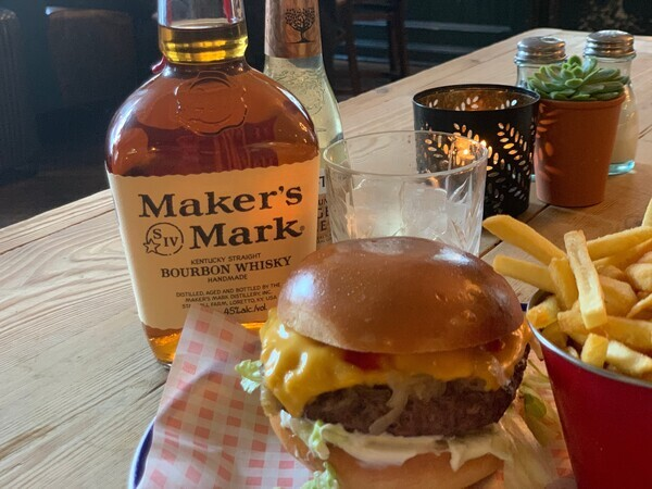 Thanksgiving with Maker's Mark