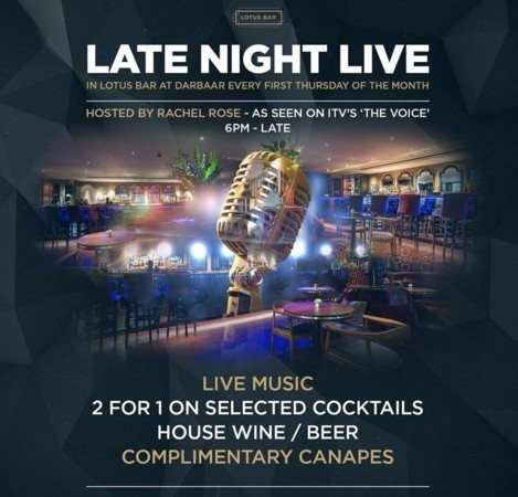 Late Night Live in Lotus Bar