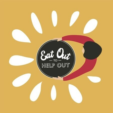 Eat out to help out- Mondays to Wednesdays in August