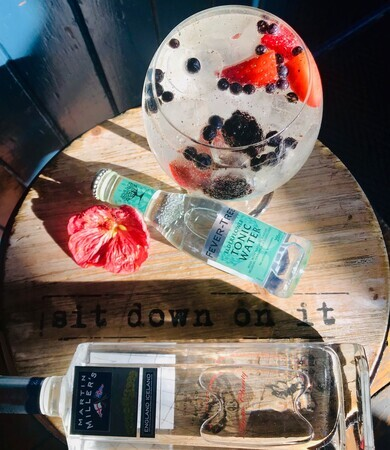 Martin Miller's Gin Sampling