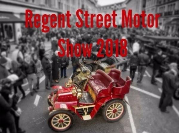 Regent Street Motor Show 2018