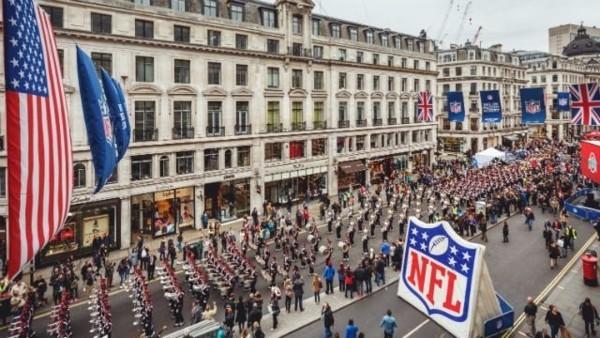 NFL on Regents Street