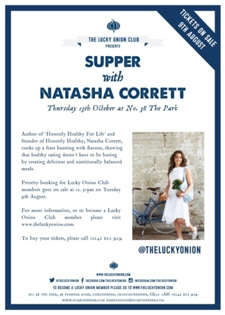 Supper with Natasha Corrett