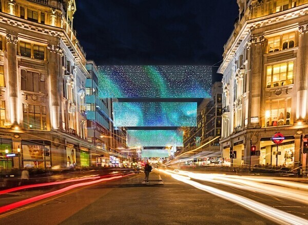Oxford Street Christmas Lights Switch-On