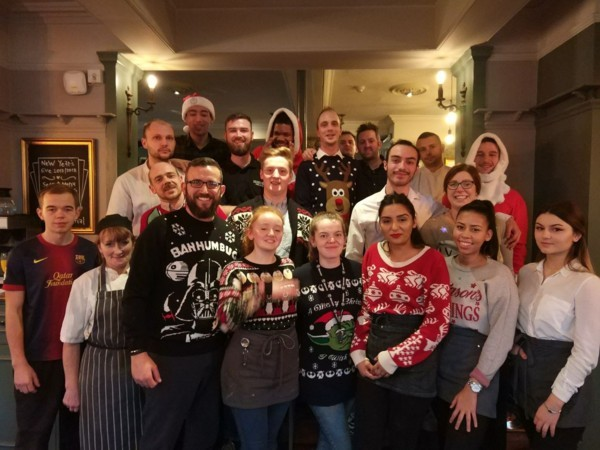 Christmas Day at the Coach & Horses