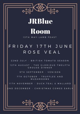 JRBlue Room - 17th June - Rose Veal
