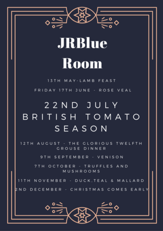 JRBlue Room - 22nd July - British Tomato Season