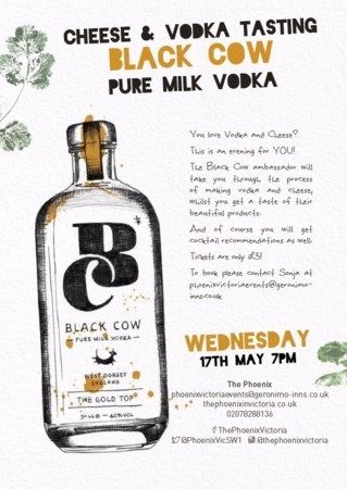 Black Cow Vodka and Cheese Masterclass