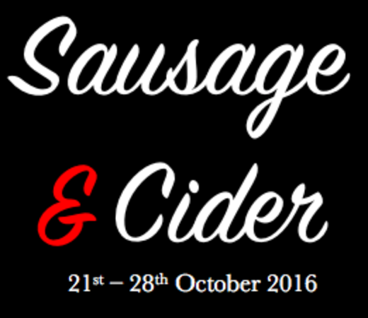 Sausage & Cider Week