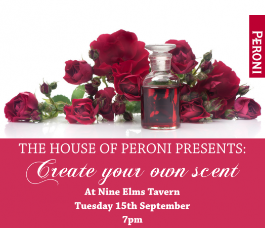 House of Peroni - Create Your Own Scent