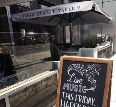 Live Music at Leman Street Tavern