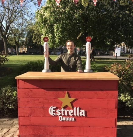 Estrella Damm Pop Up Bar