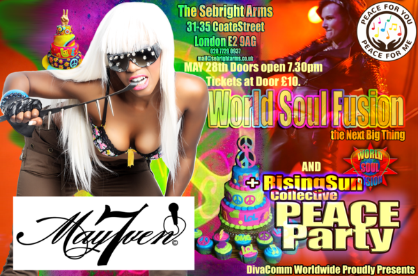 Seabright Arms - WORLD SOUL FUSION, May7ven + Rising Sun Collective