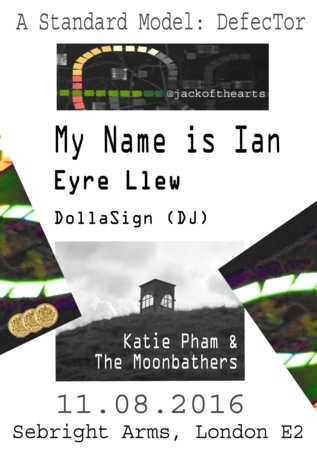 Seabright Arms - The TYFYI Tour Presents: My Name is Ian + Eyre Llew + A Standard Model + Katie Pham and the Moonbathers