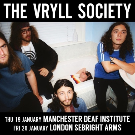 Seabright Arms - SJM Concerts Presents: The Vryll Society + Special Guests