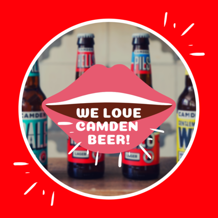 Let us hear you SHOUT about Camden Beer!