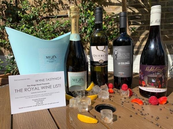 The Royal Wine List