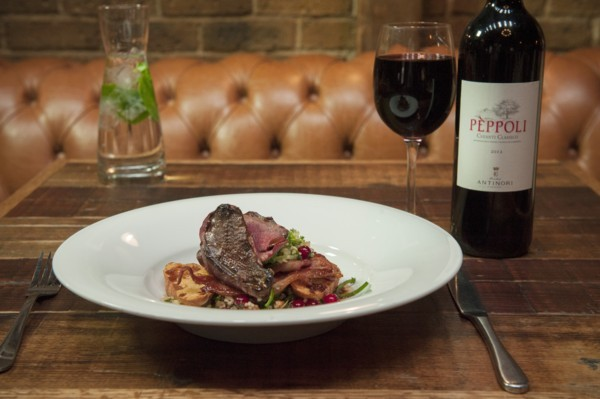 Game Masterclass and Wine Matching Feast