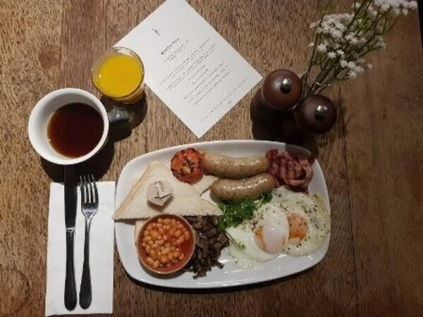 The London Marathon Brunch