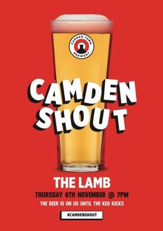 Camden Shout at The Lamb