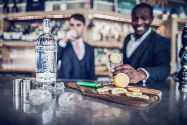 Gin and Cheese - City of London