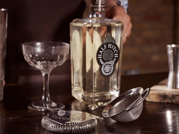 Sampling with Half Hitch Gin!