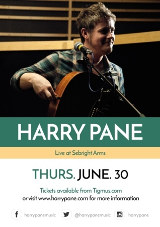 Seabright Arms - Harry Pane - EP Release + Special Guest