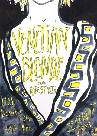 Seabright Arms - Venetian Blonde + Special Guests