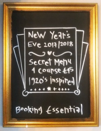 Vintage Feast Secret Dining - New Year's Eve