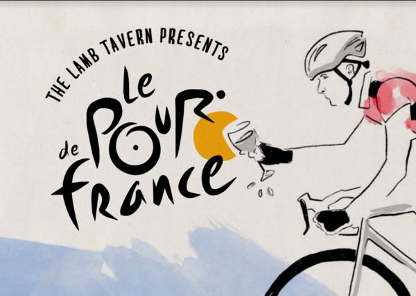 Pour de France - Burgundy!