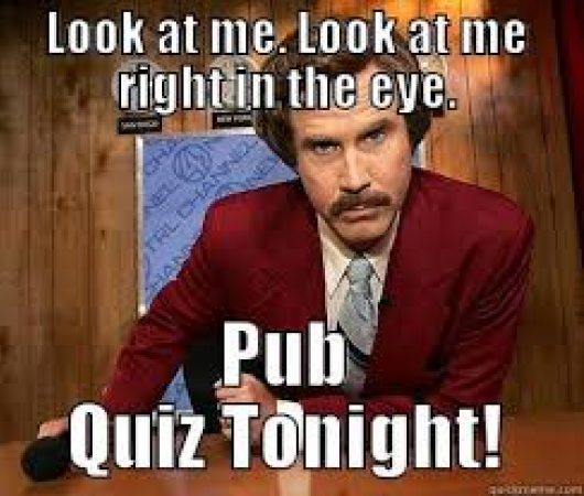 The Griffin Quiz night