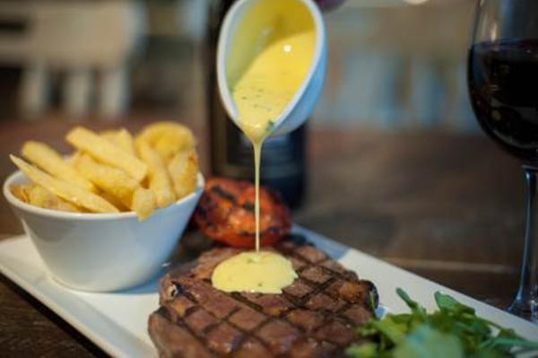 A Cut Above - Two Sirloin Steaks for £25 at The Nine Elms Tavern