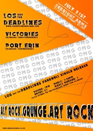 Seabright Arms - Los And The Deadlines + Victories + Port Erin