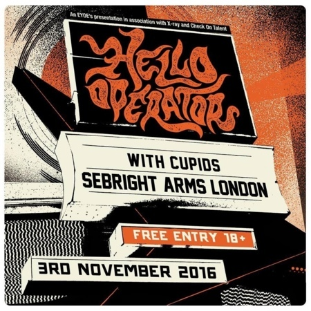 Seabright Arms - Eat Your Own Ears Presents: Hello Operator + Cupids