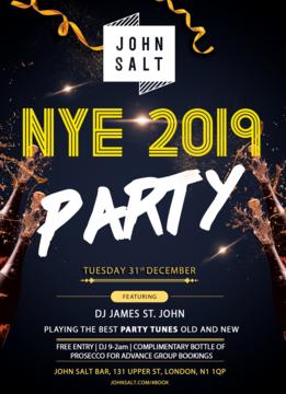JOHN SALT NYE PARTY!