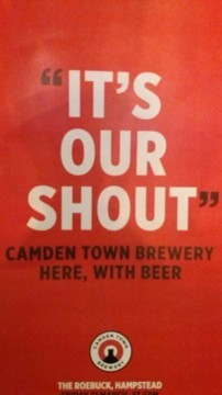 Camden Town Brewery visits The Roebuck