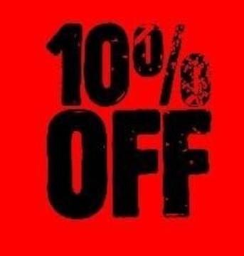 Thirsty Weekdays 10% OFF NHS