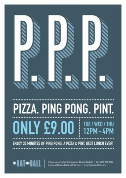 Pizza Ping Pong & Pint