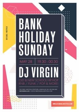 Bank Holiday Sunday