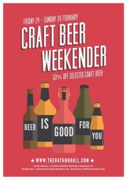 Craft Beer Weekender!